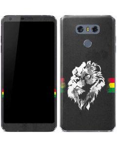 Horizontal Banner - Lion of Judah LG G6 Skin