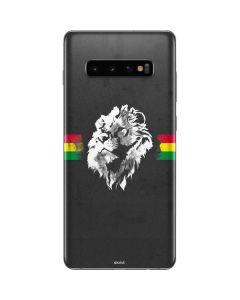 Horizontal Banner - Lion of Judah Galaxy S10 Plus Skin