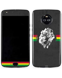 Horizontal Banner - Lion of Judah Moto X4 Skin