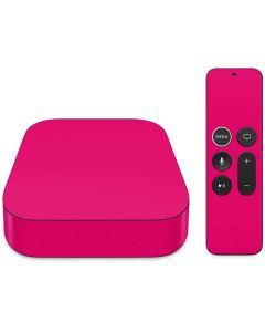HOT Pink Apple TV Skin
