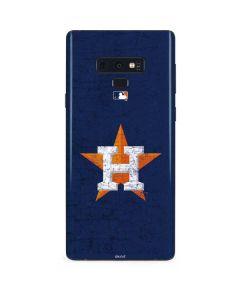 Houston Astros Alternate Distressed Galaxy Note 9 Skin
