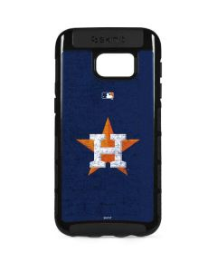 Houston Astros Alternate Distressed Galaxy S7 Edge Cargo Case