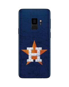 Houston Astros Alternate Distressed Galaxy S9 Skin