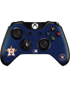 Houston Astros Alternate Distressed Xbox One Controller Skin