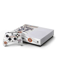 Houston Astros Altuve #27 Xbox One S Console and Controller Bundle Skin