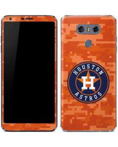 Houston Astros Digi Camo LG G6 Skin