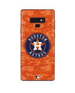 Houston Astros Digi Camo Galaxy Note 9 Skin