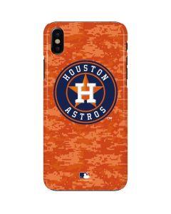 Houston Astros Digi Camo iPhone X Lite Case