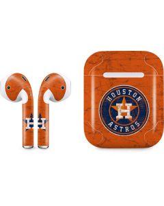 Houston Astros Distressed Apple AirPods Skin