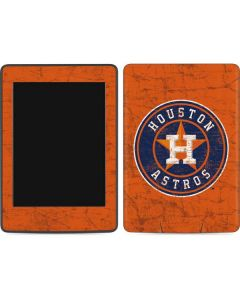 Houston Astros Distressed Amazon Kindle Skin