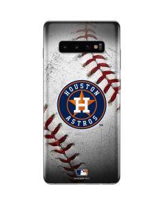 Houston Astros Game Ball Galaxy S10 Plus Skin