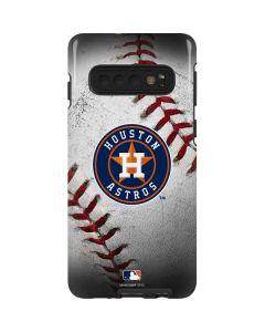 Houston Astros Game Ball Galaxy S10 Pro Case