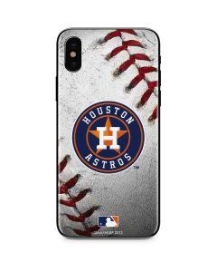 Houston Astros Game Ball iPhone X Skin