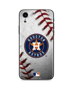 Houston Astros Game Ball iPhone XR Skin