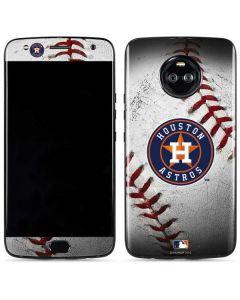 Houston Astros Game Ball Moto X4 Skin