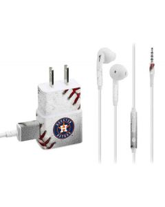 Houston Astros Game Ball Phone Charger Skin