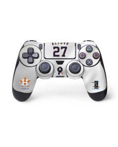 Houston Astros Jose Altuve #27 PS4 Controller Skin