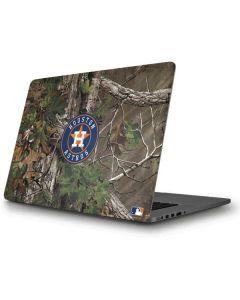 Houston Astros Realtree Xtra Green Camo Apple MacBook Pro Skin