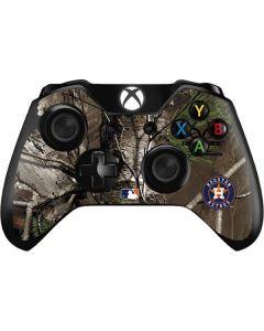 Houston Astros Realtree Xtra Green Camo Xbox One Controller Skin