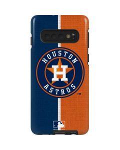 Houston Astros Split Galaxy S10 Pro Case