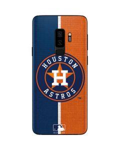 Houston Astros Split Galaxy S9 Plus Skin