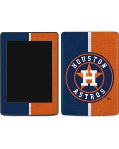 Houston Astros Split Amazon Kindle Skin