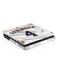 Houston Astros Springer #4 PS4 Slim Skin