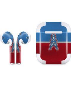 Houston Oilers Vintage Apple AirPods 2 Skin