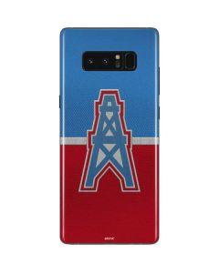 Houston Oilers Vintage Galaxy Note 8 Skin