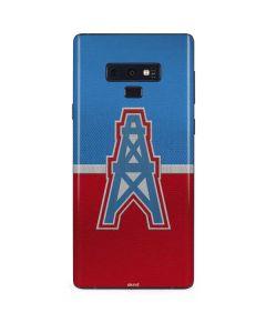 Houston Oilers Vintage Galaxy Note 9 Skin
