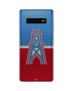 Houston Oilers Vintage Galaxy S10 Plus Skin