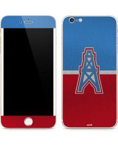 Houston Oilers Vintage iPhone 6/6s Plus Skin