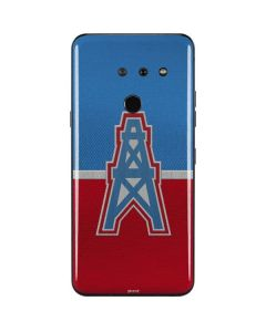 Houston Oilers Vintage LG G8 ThinQ Skin