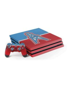 Houston Oilers Vintage PS4 Pro Bundle Skin