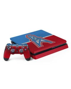 Houston Oilers Vintage PS4 Slim Bundle Skin