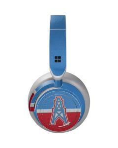 Houston Oilers Vintage Surface Headphones Skin