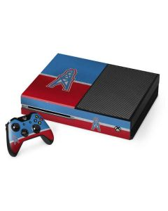 Houston Oilers Vintage Xbox One Console and Controller Bundle Skin
