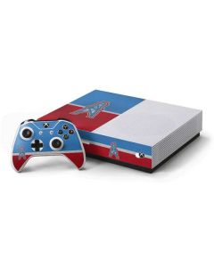 Houston Oilers Vintage Xbox One S All-Digital Edition Bundle Skin
