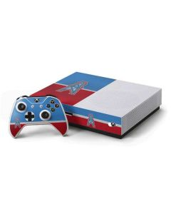 Houston Oilers Vintage Xbox One S Console and Controller Bundle Skin