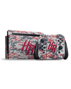 Houston Rockets Digi Camo Nintendo Switch Bundle Skin
