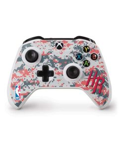 Houston Rockets Digi Camo Xbox One S Controller Skin