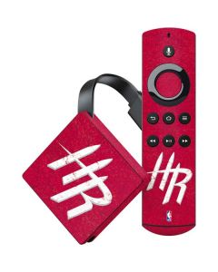 Houston Rockets Distressed Amazon Fire TV Skin