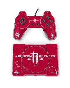 Houston Rockets Distressed PlayStation Classic Bundle Skin