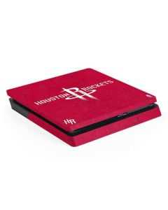 Houston Rockets Distressed PS4 Slim Skin