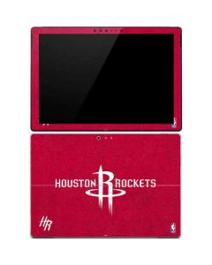 Houston Rockets Distressed Surface Pro 4 Skin