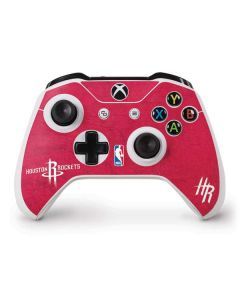 Houston Rockets Distressed Xbox One S Controller Skin