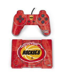 Houston Rockets Hardwood Classics PlayStation Classic Bundle Skin