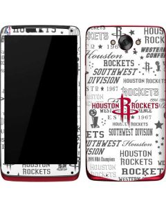 Houston Rockets Historic Blast Motorola Droid Skin