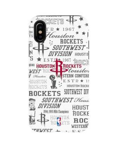Houston Rockets Historic Blast iPhone XS Max Pro Case
