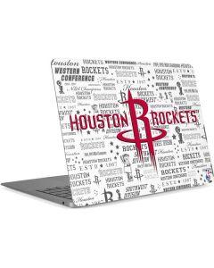 Houston Rockets Historic Blast Apple MacBook Air Skin
